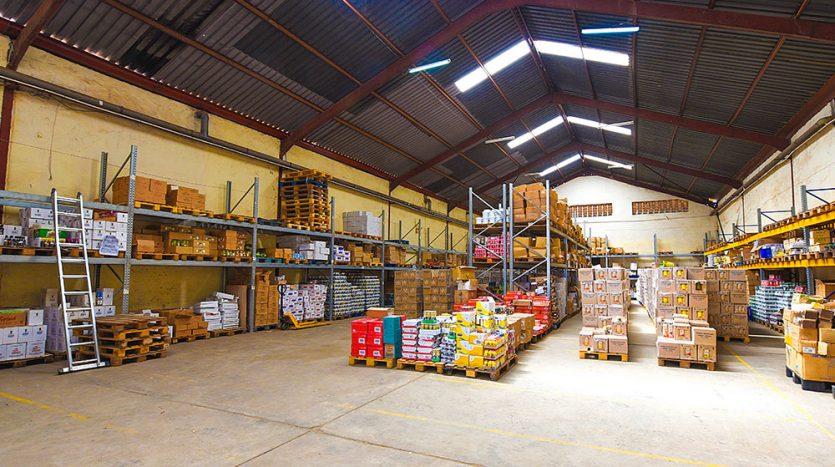 BANDA WAREHOUSE crane management services